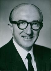 A portrait of Herman D. Kenin, President of the American Federation of Musicians.
