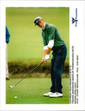 Fredrik Andersson is training for the British Open