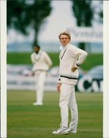 Dominic Cork English cricketer with Derby.