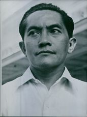 Close up of Indonesian politician Mr. Sunarjo
