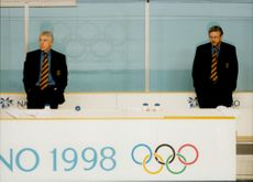 There were no coin mines on the Swedish coaches Barry Smith and Kent Forsberg after the 2-1 loss against Finland in the Olympic Games.