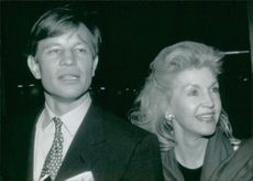 Michael York with his wife Patricia.