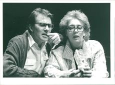 Actress Sue Johnston and John McArdle
