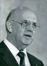 South African politician, Pieter Willem Botha, 1986.