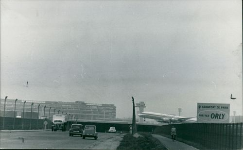 A Douglas DC-8 Airliners provides an Eye catching picture.