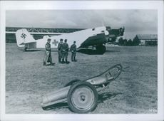Red cross planes form an essential ingredient of the German medical service