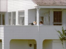 Kennedy's holiday villa in Hyannisport