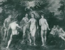 Sir Peter Paul Rubens:the judgement of paris.