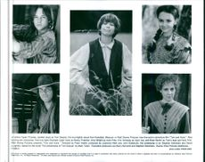 Tom and Huck, Rachael Leigh Cook, Amy Wright, Eric Schweig and Brad Renfro from the movie Tom and Huck.