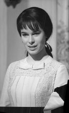 Portrait of Geraldine Chaplin.