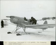 Fleet of flight during Finnish-Russian War 1939-49
