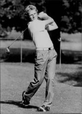 Golf player Bernhard Langer