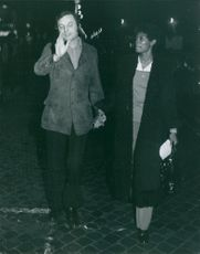 Marie Dionne Warrick with Pietro Gilberto Tarchini. 1972.