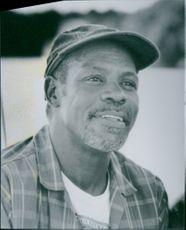 """A photo of Danny Glover as Gus Green in the film """"Gone Fishin'"""". 1997."""