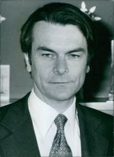 Portrait of David Owen.   1977