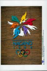 The 1998 Olympic Games sign up for the Winter Olympics in Nagano