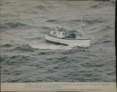 One of the Swedish fishing boats rejected from the fishing zone of Soviet military ships.