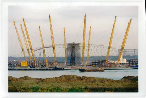 Photography at the Millennium Dome in London.