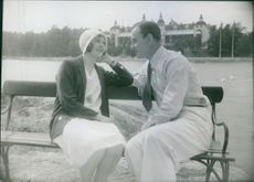 A scene from the film Artificial Svensson.