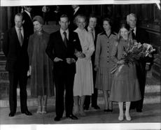 Prince and Princess Michael of Kent after his marriage in Vienna
