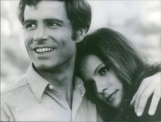Danielle Gaubert together with Jean-Claude Killy, 1968.