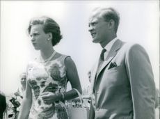 Richard, 6th Prince of Sayn-Wittgenstein-Berleburg and Princess Benedikte of Denmark.