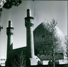 The Sultan Ahmed Mosque in Iran.