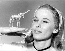 "Bibi Andersson i Dramatens uppsättning av Tennessee Williams ""Glasmenageriet"""