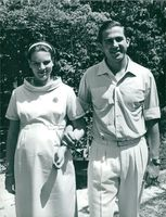 King Konstantin and Queen Anne-Marie of Greece