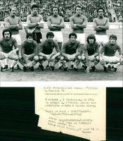 Football. World Cup 1978 Argentina. Italy's national team