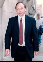 Malcolm Kennedy arriving at court.