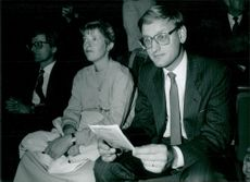 Carl Bildt with his wife Mia