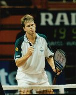 Stefan Edberg during the Stockholm Open.