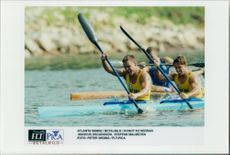 OS in Atlanta 1996. Canoe K2 Men: Marcus Oscarsson and Staffan Malmsten
