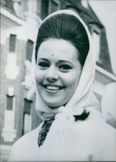 A photo of Marylou Susan De Guingand, 1962.