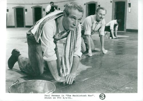 "Actor Paul Newman in the movie ""Trap"""