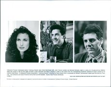 Andie MacDowell, John Turturro and Michael Richards stars in the film, Unstrung Heroes.