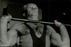 Weightlifting Arvid Andersson