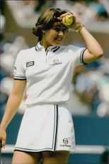 Tennis player Martina Hingis