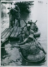 Indian troops in a Singapore exercise.