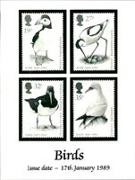 Postage stamp 'Birds'