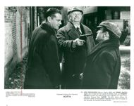 """Actors Jack Nicholson, Robert Prosky and Danny DeVito in the movie """"Hoffa"""""""