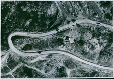 A photo of Naga Hills taken from above.