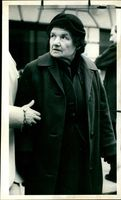Mrs Celesta Maria Holford widowed mother of the accused.