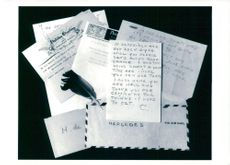 Private letter collection belonging to Greta Garbo