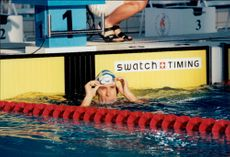 Olympic Games in Atlanta 1996. Anders Holmertz, 400 meters freestyle