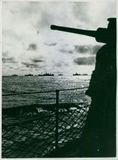 The British and French Navies are co-operating in guarding and convoying Allied shipping.