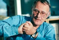Portrait of the founder of IKEA, Ingvar Kamprad