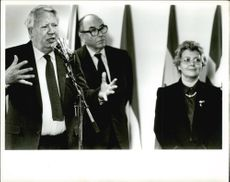 Edward Heath, Lynda Chalker and Roy Jenkins