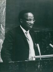 Photograph of Mr. Moutlakgola Nwako.